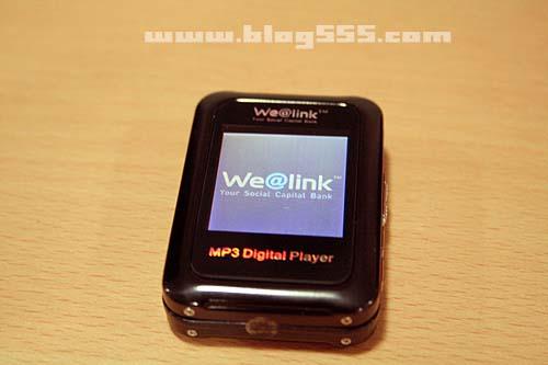 wealink的MP3实物照片