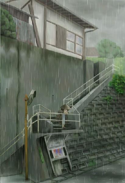老是忘记带伞