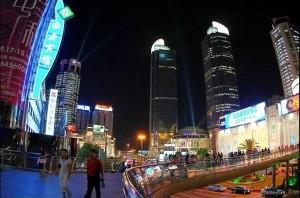 港汇广场的灯