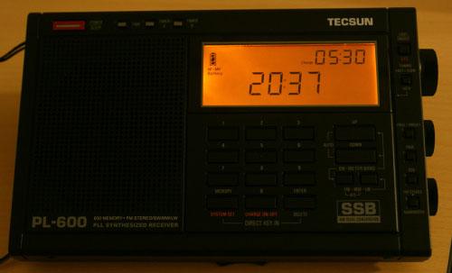 到手新玩具——德生PL-600