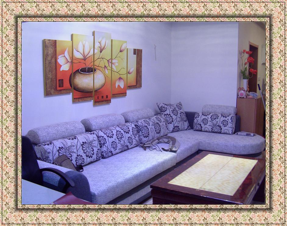 上图,俺南京的房子家具搞定了。