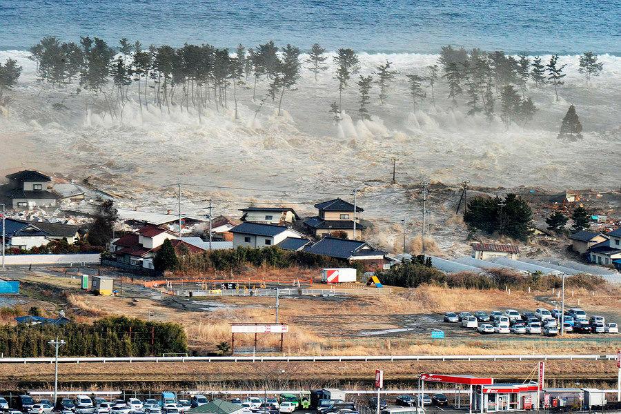 经历8.8级大地震